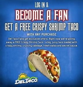 free shrimp taco