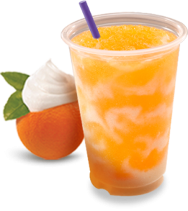 Taco Bell - FREE Orange 'n Creme Swirl Frutista Freeze