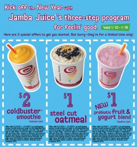 Jamba Juice Coupons 2011