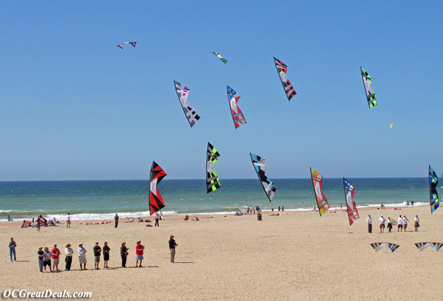 Huntington Beach Kite Party