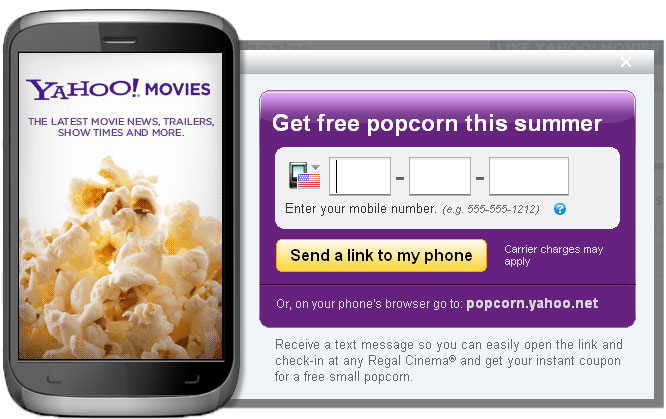 Regal movies popcorn coupons