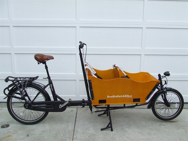 Double Dutch Box Bike
