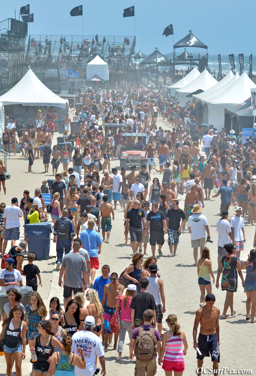 US Open of surfing Huntington Beach