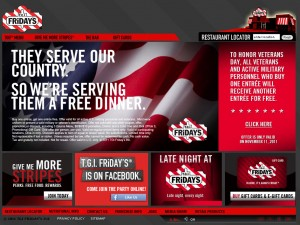 Tgi Fridays Menu with Prices. Looking for the TGI Fridays Menu? Look no further! See the complete Tgi Fridays Menu with prices here, including the TGIF menu for steaks & burgers and the TGI Fridays Happy Hour drinks menu, plus a list of current TGIF deals and specials.