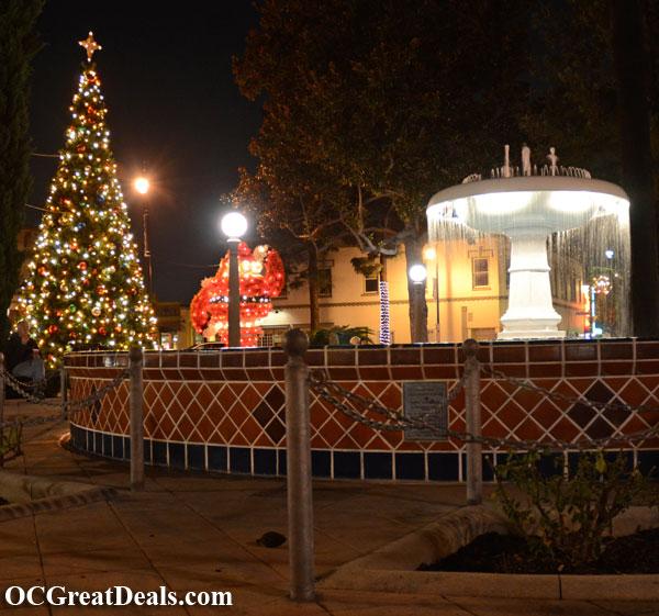 2011 orange plaza circle annual tree lighting ceremony